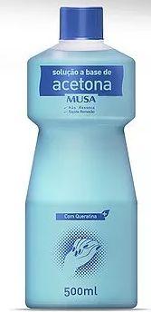 Acetona Musa Sol Removedor com Queratina