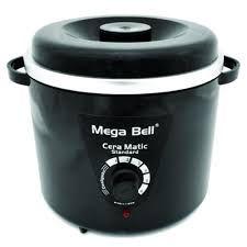 Panela Mega Bell Preta 900g (com refil)