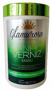 Glamurosa Profissional Banho De Verniz - Bambu 1kg