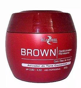 Mairibel Condicionador Hidratante Matizador Brown 500 Gr