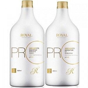 Escova Progressiva Royal Promax Óleo De Argan 1000ml
