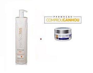 Perfect Liss Turmalina Redutor Passo4 Ativo 1250ml + Botox 100g