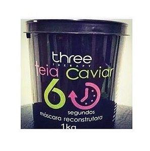 Máscara Reconstrutora Teia Caviar Three Therapy 60s