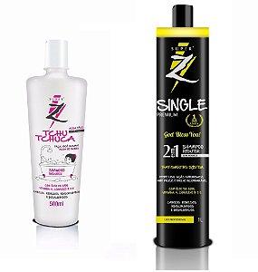 Shampoo Que Alisa Super Z + Tchuca Super Z