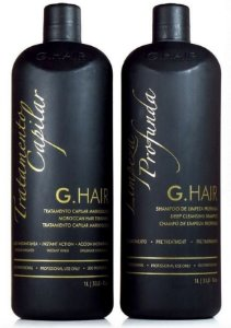 Escova Progressiva G.hair Marroquina 2x1l