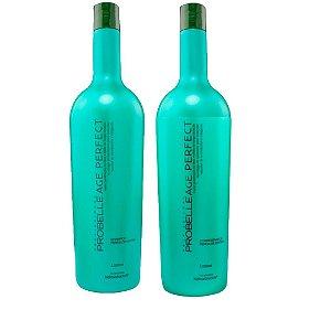 Kit Probelle Age Ultra 1litro - Shampoo E Condicionador