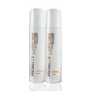 Kit Shampoo E Condicionador Lumino Max Probelle 250ml