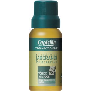 Caixa Tônico Ativador Extrato de Jaborandi Capicilin 12x20ml
