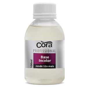 Base para unhas Incolor Cora 100ml