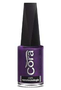 Esmalte Cora 9ml Black 11 Shine Purple