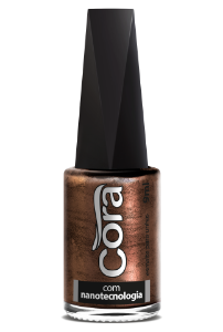 Esmalte Cora 9ml Black 12 Metal Bronze