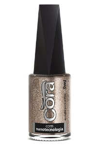 Esmalte Cora 9ml Top Glitter Asteroide