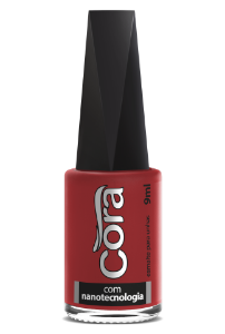 Esmalte Cora 9ml POP Cremoso Red 14