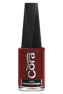 Esmalte Cora 9ml Black Red 80