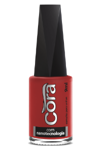 Esmalte Cora 9ml Black Red 46
