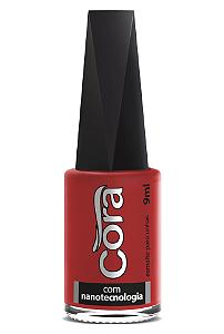 Esmalte Cora 9ml Black Red 46