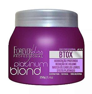 Botox Matizador Platinum Blond Forever Liss 250g