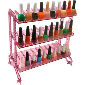 Display de esmate inquebravel Rosa
