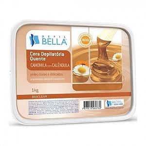 Cera Depilatória Camomila Depil Bella 1kg