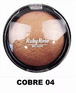 Pó Iluminador Bronzeador Ruby Rose 04