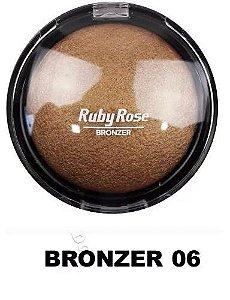 Pó Iluminador Bronzeador Ruby Rose 06