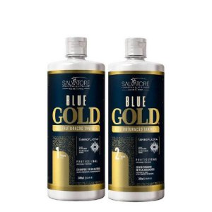 Progressiva Salvatore Blue Gold Sem Formol 2x1000ml
