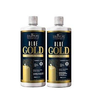 Progressiva Salvatore Blue Gold Sem Formol 2x1000ml