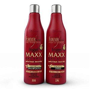 NOVA Forever Liss Maxx Escova Progressiva Ingel Maxx 2x1000ml
