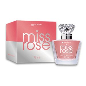 Phytoderm Colonia Miss Rose 75 Ml Feminino