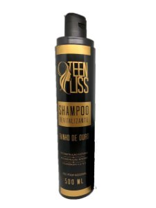 Shampoo Revitalizante Banho de Ouro Teen Liss 500ml