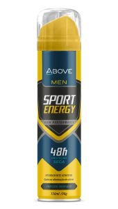 Desodorante Antitranspirante Above Men Sport Energy 150ml