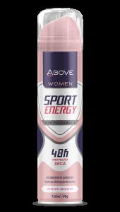 Desodorante Antitranspirante Above Women Sport Energy 150ml