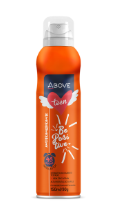 Desodorante Antitranspirante Above Teen Be Positive 150ml