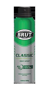 Desodorante Antitraspirante Alcoolico Brut Men Classic 150ml