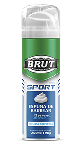 Espuma de Barbear Brut Men Sport 200ml