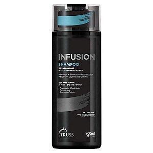 Shampoo Infusion p/ Cabelos Secos Opacos e Quebradiços 300ml -Truss
