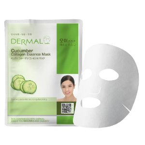 Máscara Facial Anti-stress Derma - Colágeno com Pepino - 23g