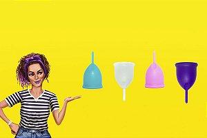Novo Coletor Menstrual Violeta Cup - Tipo B