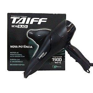 Secador Taiff New Black 1700W - 220v