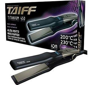 Chapa Taiff Titanium 450 Linha Diamante Bivolt