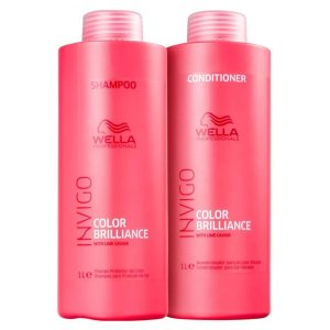 Kit Shampoo e Condicionador Invigo Color Brilliance Wella 1L
