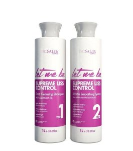 Kit Progressiva Let Me Be Supreme Liss Control 2x1000ml