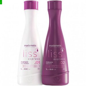 Escova Progressiva Liss Ultimate Madamelis 2x1000ml