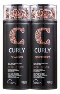 Truss Kit Curly Shampoo + Condicionador 2X300ml