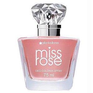 Miss Rose Spray Phytoderm - Perfume Feminino - Deo Colônia