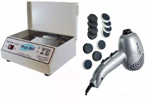 Estufa Esterelix Compact + Pedicuro Prata 110v C/ Lixas