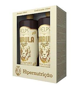 Kit Felps Shampoo + Condicionador Hipernutrição Marula 250ml