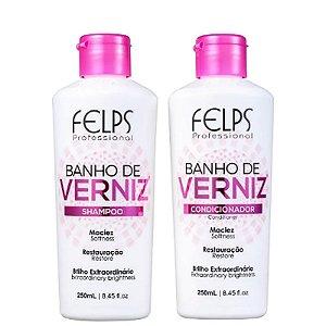 Kit Felps Profissional Banho de Verniz Duo 2x250ml