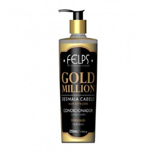 Felps Gold Million Desmaia Cabelo Condicionador 230ml