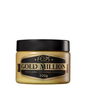 Felps Gold Million Desmaia Cabelo - Máscara 300ml